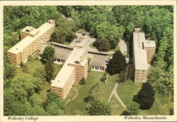 Wellesley College - Bates-Freeman-McAfee Halls