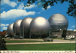 Langley Research Center NASA - Space Age Wind Tunnels Postcard