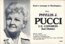 Elect Phyllis J. Pucci, US Congress, 2nd District