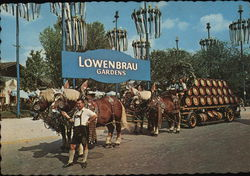 Lowenbrau Gardens - Original Lowenbrau Brewery Wagon