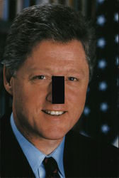 Bill Clinton Postcard Light-Switch-Cover