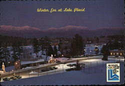 Winter Eve at Lake Placid