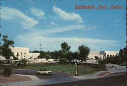 Civic and Cultural Center Postcard