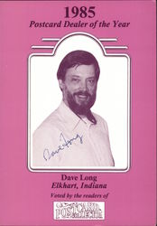1985 Postcard Dealer of the Year, Dave Long