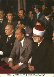 President Sadat of Egypt