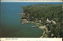 View of Town and Door County Peninsula
