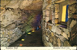 Rainbow Hall, Rock City Gardens, Lookout Mountain Postcard