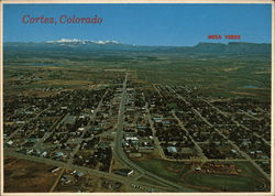Aerial View of Cortez