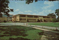 Crown Point High School Postcard