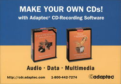 Adaptec CD-recording Software