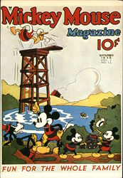 Mickey Mouse Magazine, September 1936