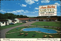 Anne Shirley Motel and Cabins Postcard