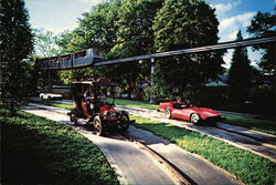 Twin Turnpike Ride and Monorail, Hershey Park