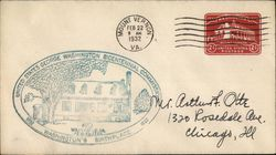 First Day Cover: Washington's Birthplace