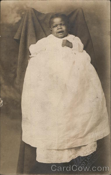 African American Baby Black Americana
