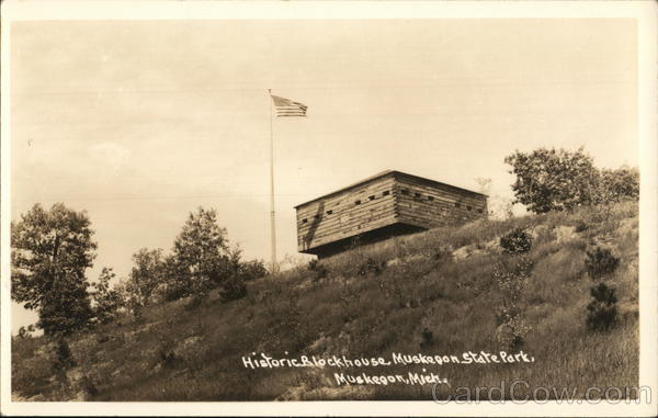 Historic Blockhouse Muskegon State Park Michigan