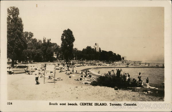 South East Beach, Centre Island Tornonto Canada Ontario