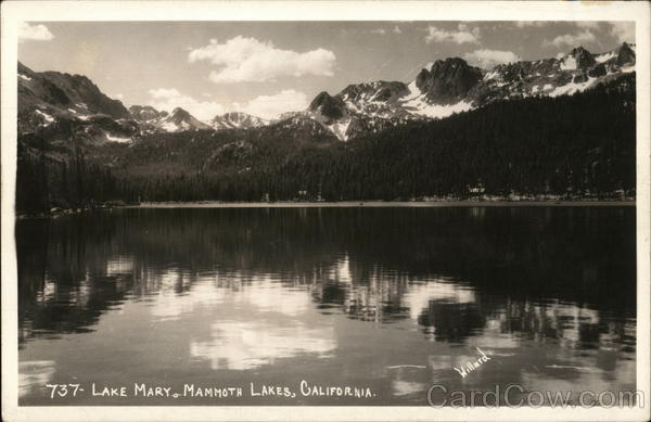 Lake Mary Mammoth Lakes California