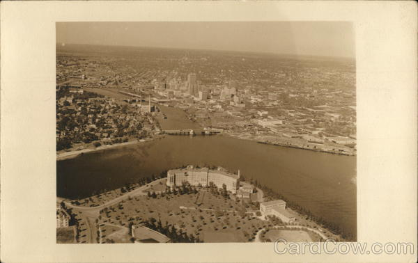 Aerial View Tampa Florida