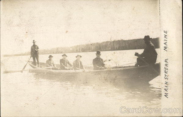 6 Men in a Boat Mainstream Maine