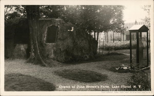 Graves at John Brown's Farm Lake Placid New York