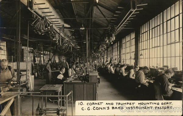 Conn's Band Instrument Factory Elkhart Indiana