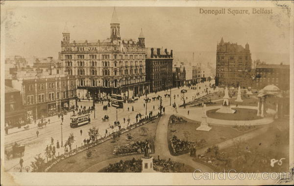 Donegall Square Belfast Northern Ireland