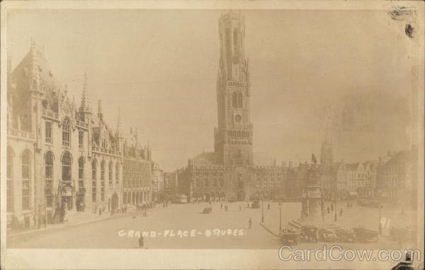Grand Place Bruges Belgium Benelux Countries