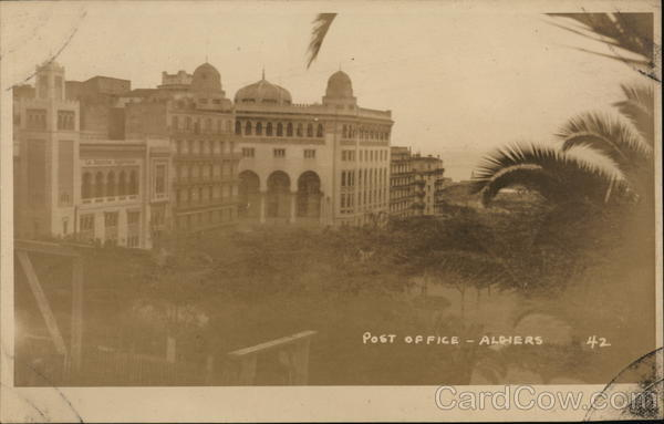 Post Office Algiers Algeria Africa