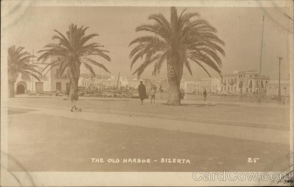 The Old Harbor Bizerte Tunisia Africa