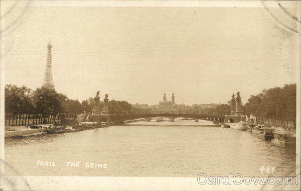 The Seine Paris France