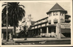 Hollywood Hotel Postcard