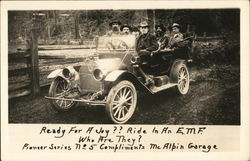 Men in an EMF Automobile