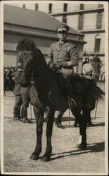 Military Officer on Horse