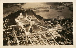 State Capitol of Washington Air View Postcard
