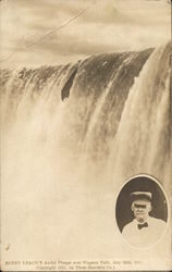 Bobby Leach's Awful Plunge Over Niagara Falls, 1911