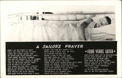 Sailor on Bunk