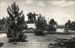 Lumberman's Monument Postcard
