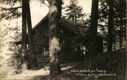 Cabinat Siskiyou Camp, 16 Miles South of Ashland, Ore.