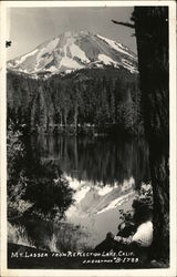 Mt. Lassen from Reflection Lake, Calif.