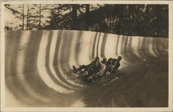 Riding on a Bobslead