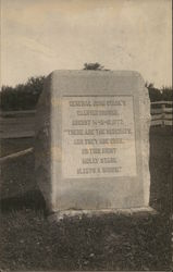 General John Stark's Camping Ground Monument