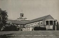 Henrietta D. Goodall Hospital