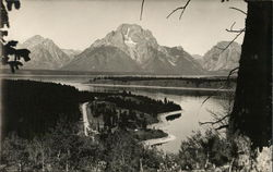 Mt. Moran Overlooking Jackson Lake