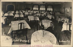 Hotel Durant Dining Room