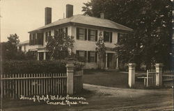 Home of Ralph Waldo Emerson