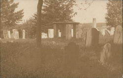 View of Cemetery, Pigeon Cove