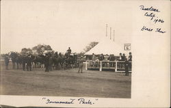 Horse Show at Tournament Park, 1906
