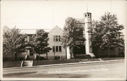 Mich. National Guard Armory Postcard