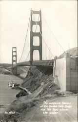 The Massive Towers of the Golden Gate Bridge